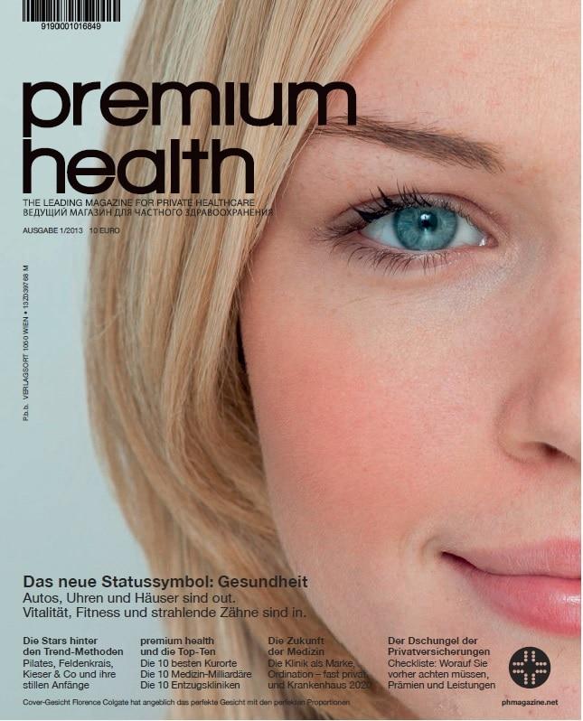 Die erste Ausgabe von premium health ist erschienen